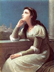 Джульетта. Филип Кальдерон  -  Juliet ,  Philip H. Calderon,  1887,  London