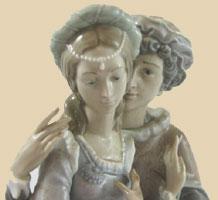 Ромео и Джульетта -  декоративные статуэтки