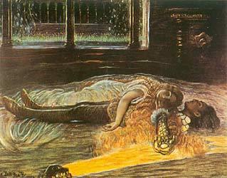 Ромео и Джульетта  -  The Death of Romeo and Juliet ,  Angelo Dall'Oca Bianca (1857-1942) Verona