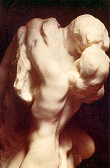Ромео и Джульетта  -  Romeo et Juliette by Auguste Rodin. Detail  -  деталь скульптуры Родена Ромео и Джульетта