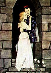 Ромео и Джульетта , иллюстрация Д. Шмаринова, 1959-1961 -  Romeo and Juliet , Illustration by Dementy Shmarinov