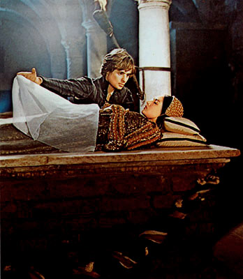 Romeo:  Juliet. O my love, my wife!