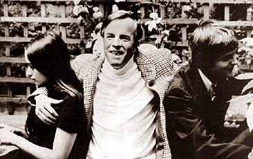 Franco Zeffirelli with Olivia Hussey and Leonard Whiting
