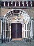 The portal of Santa Maria Maggiore in Tuscania