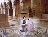 The scene of Romeo and Juliet'secret wedding was shot in San Pietro