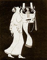 ����� - ������� ������. ������. 1 �������� 5-�� ���� �� �.�.  -  Orpheus. decoration on amphora